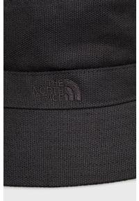 The North Face - Kapelusz. Kolor: czarny. Materiał: materiał