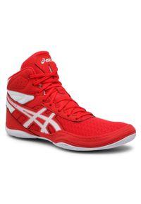 Czerwone buty treningowe Asics