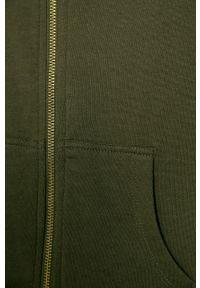 Zielona bluza rozpinana Kids Only casualowa, na co dzień, z kapturem #3