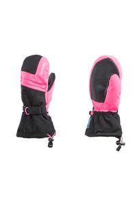 Różowa rękawiczka sportowa Reusch narciarska, na zimę, Primaloft