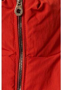 Czerwona kurtka only casualowa, na co dzień, bez kaptura