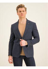 Niebieska marynarka casual Tommy Hilfiger Tailored