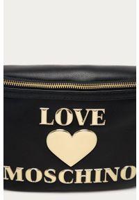 Czarna nerka Love Moschino z aplikacjami