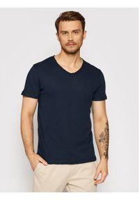 Jack&Jones PREMIUM T-Shirt Bluvance 12185039 Granatowy Regular Fit. Kolor: niebieski