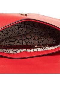 Nobo - Torebka NOBO - NBAG-H2340-C005 Czerwony. Kolor: czerwony. Wzór: aplikacja. Materiał: skórzane