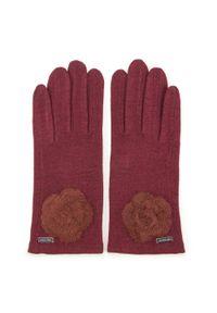 Czerwone rękawiczki Wittchen