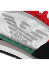Emporio Armani Sneakersy X4X537 XM678 N640 Kolorowy. Wzór: kolorowy