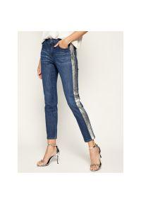 Niebieskie jeansy Marella Sport sportowe