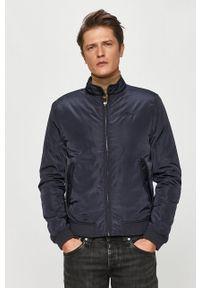 Niebieska kurtka Pepe Jeans na co dzień, casualowa