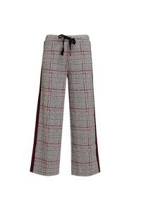 Szare spodnie Deha sportowe, z nadrukiem