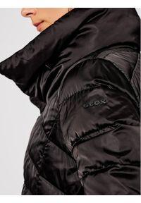 Czarna kurtka puchowa Geox