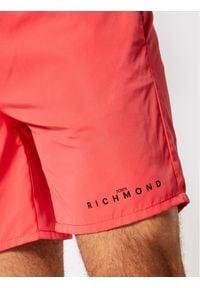 John Richmond Szorty kąpielowe Pitchard UMP21123CO Czerwony Regular Fit. Kolor: czerwony