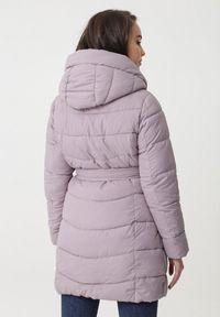 Fioletowa kurtka zimowa Born2be