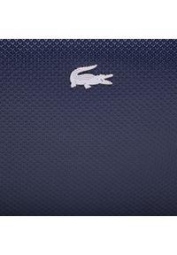 Niebieska listonoszka Lacoste skórzana