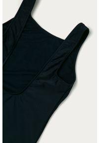 Niebieski strój jednoczęściowy Polo Ralph Lauren z nadrukiem, z odpinanymi ramiączkami