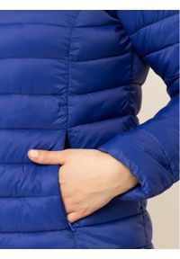 Niebieska kurtka puchowa Persona by Marina Rinaldi