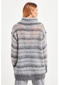 Sweter TwinSet do pracy, z golfem