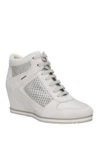 Geox - sneakersy geox d7254b 022bv. Kolor: szary. Materiał: skóra ekologiczna, zamsz. Szerokość cholewki: normalna