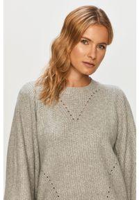 Szary sweter Noisy may długi, na co dzień, casualowy #5