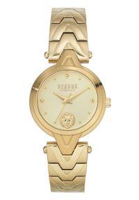 Versus Versace - Zegarek VSPVN0820. Kolor: złoty. Materiał: materiał