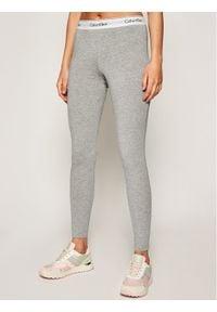Calvin Klein Underwear Legginsy 0000D1632E Szary Slim Fit. Kolor: szary