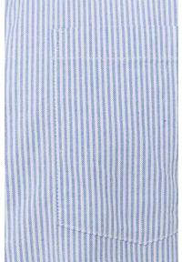 Only & Sons - Koszula bawełniana. Typ kołnierza: button down. Kolor: fioletowy. Materiał: bawełna. Długość rękawa: długi rękaw. Długość: długie