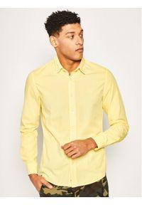 Żółta koszula casual Calvin Klein Jeans