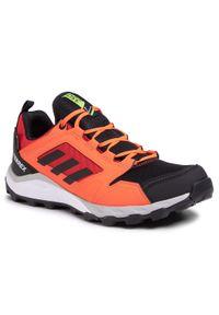 Pomarańczowe buty do biegania Adidas z cholewką, Adidas Terrex, Gore-Tex