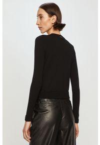 Czarny sweter rozpinany Liu Jo na co dzień, casualowy, gładki