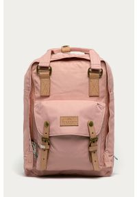 Różowy plecak Doughnut gładki