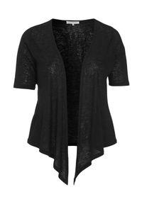 Zhenzi Sweter Agar Czarny female czarny 42/44 (S). Kolor: czarny. Długość rękawa: krótki rękaw. Długość: krótkie