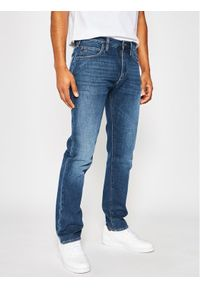 Emporio Armani Jeansy 3H1J45 1D9RZ 0942 Granatowy Regular Fit. Kolor: niebieski. Materiał: jeans