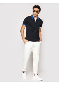 North Sails Polo W/Logo 692309 0999 Czarny Regular Fit. Typ kołnierza: polo. Kolor: czarny