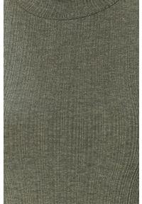 Miętowy sweter Haily's długi, z długim rękawem