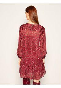 iBlues Sukienka koktajlowa Nitrite 72262706 Bordowy Oversize. Kolor: czerwony. Typ sukienki: oversize. Styl: wizytowy #4