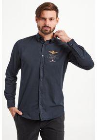 Koszula Aeronautica Militare na co dzień, elegancka