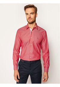 Czerwona koszula casual TOMMY HILFIGER
