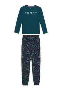 Zielona piżama TOMMY HILFIGER