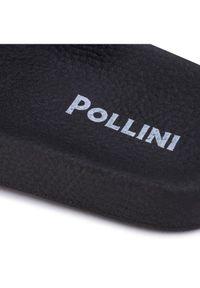 Białe klapki Pollini