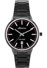 Czarny zegarek Albatross