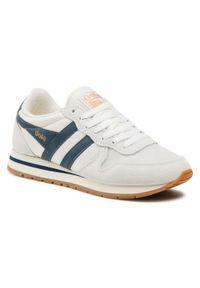 Gola - Sneakersy GOLA - Daytona CMA592 Off White/Vintage Blue/Gum. Kolor: beżowy. Materiał: skóra ekologiczna, materiał, zamsz. Szerokość cholewki: normalna. Styl: vintage