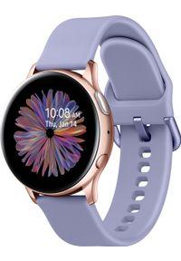 SAMSUNG - Smartwatch Samsung Galaxy Watch Active 2 Fioletowy (SM-R830NADADBT). Rodzaj zegarka: smartwatch. Kolor: fioletowy