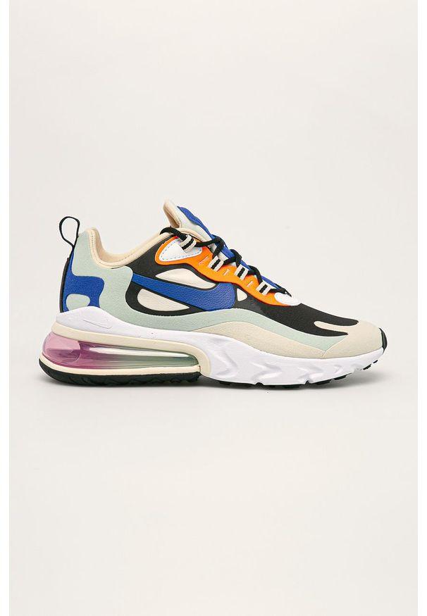 Wielokolorowe buty sportowe Nike Nike Air Max, na obcasie, na sznurówki