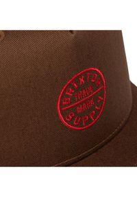 Brązowa czapka z daszkiem Brixton