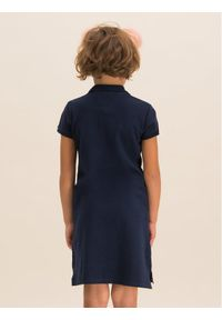 Niebieska sukienka TOMMY HILFIGER na co dzień, casualowa