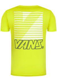 Vans T-Shirt Retro Sport VN0A49Q4RHT1 Żółty Classic Fit. Kolor: żółty. Styl: retro, sportowy