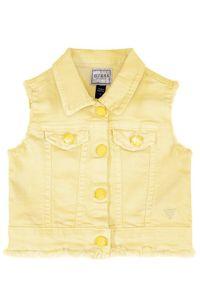 Żółta kamizelka Guess
