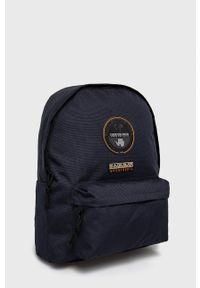 Napapijri - Plecak. Kolor: niebieski
