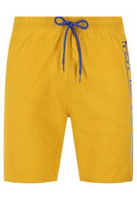 Żółte szorty Napapijri