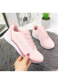 Różowe buty sportowe McBraun